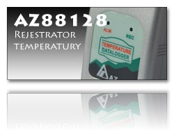 AZ88128 rejestrator temperatury++AZ88128 rejestrator temperatury