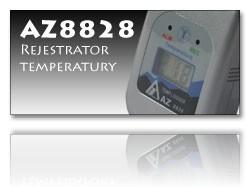 AZ8828 rejestrator tempeartury++AZ8828 rejestrator tempeartury