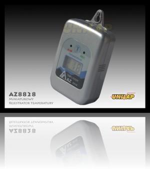 AZ8828 miniaturowy rejestrator temperatury++AZ8828 miniaturowy rejestrator temperatury