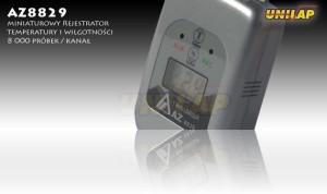 AZ8829 rejestrator temperatury i wilgotności++AZ8829 rejestrator temperatury i wilgotności