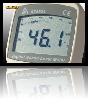 AZ8921 sonometr, miernik natężenia dźwięku++AZ8921 sonometr, miernik natężenia dźwięku