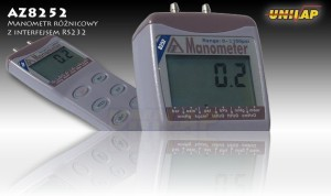 AZ8252 manometr różnicowy++AZ8252 manometr różnicowy