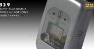 AZ8829 rejestrator temperatury i wilgotności