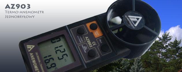 AZ8903 termo-anemometr z RS232